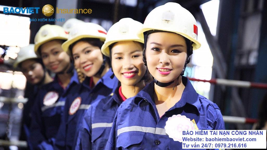 bảo hiểm tai nạn công nhân Bảo Việt