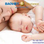 Bảo hiểm sức khỏe trẻ em dưới 1 tuổi