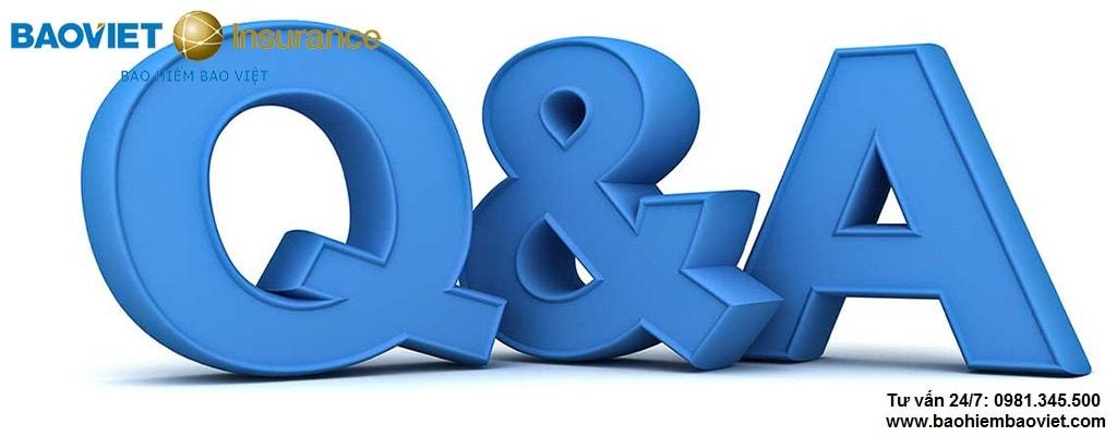 câu hỏi thường gặp về Bảo Việt Intercare