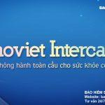 Bảo hiểm sức khỏe toàn cầu Intercare của Bảo Việt