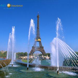 bảo hiểm du lịch Pháp