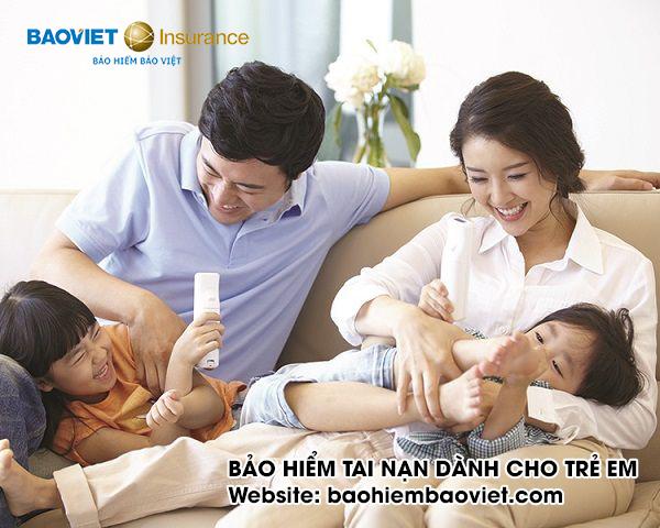 bảo hiểm tai nạn cho trẻ