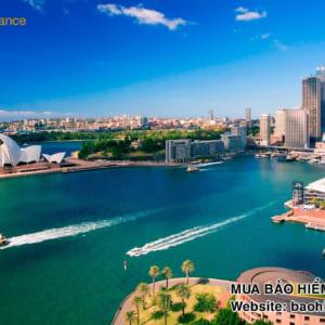 bảo hiểm du lịch đi Úc