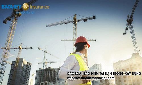 các loại bảo hiểm tai nạn trong xây dựng