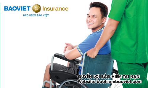 quyền lợi bảo hiểm tai nạn