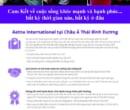 bảo hiểm sức khỏe cao cấp aetna