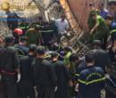 tai nạn sập giàn giáo trong bảo hiểm xây dựng