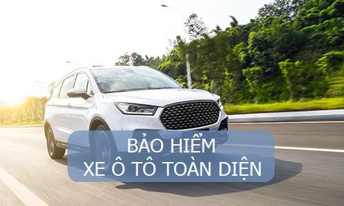 bảo hiểm xe ô tô toàn diện