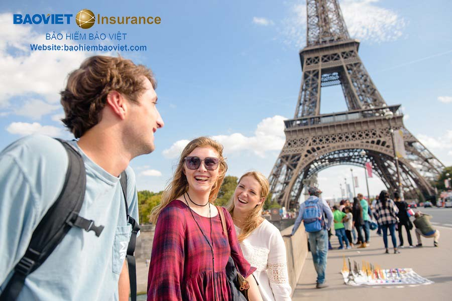 bảo hiểm du lịch quốc tế đi Pháp